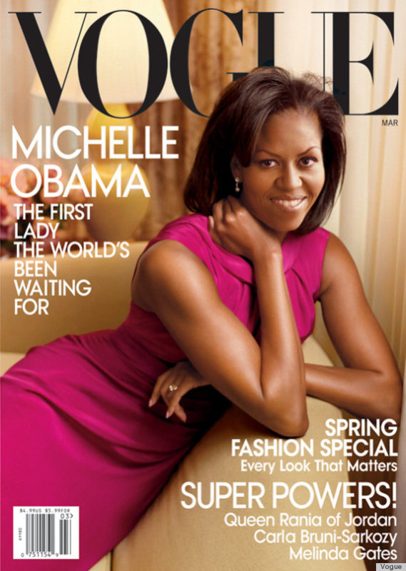 michelle obama on the cover of vogue magazine