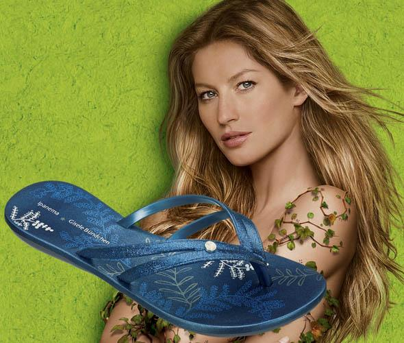 00dbd34ccef 3 pairs of flip-flops by Gisele Bundchen up for grabs - FLAVOURMAG