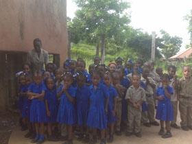 teacher  & some pupils