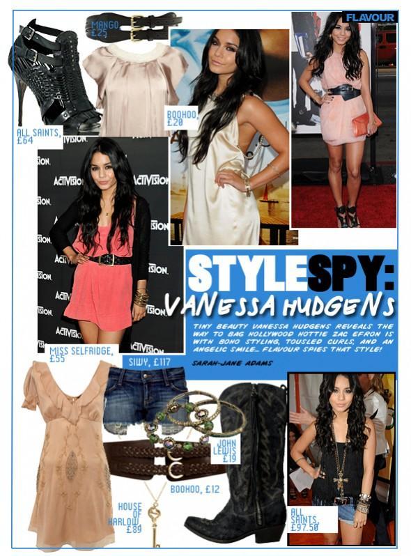 Style Spy Vanessa Hudgens