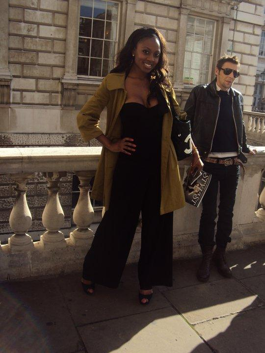 Pic - Mary at LFW
