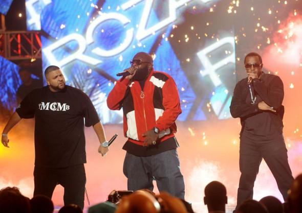 DJ Khaled, Rick Ross & Diddy