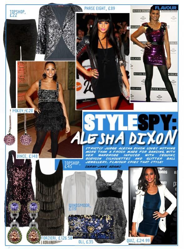 Style Spy Alesha Dixon