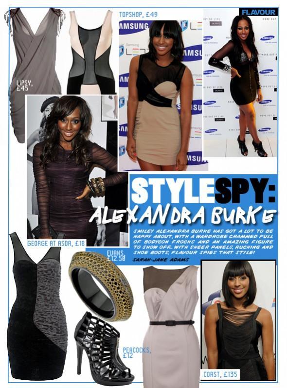 Style Spy Alexandra Burke