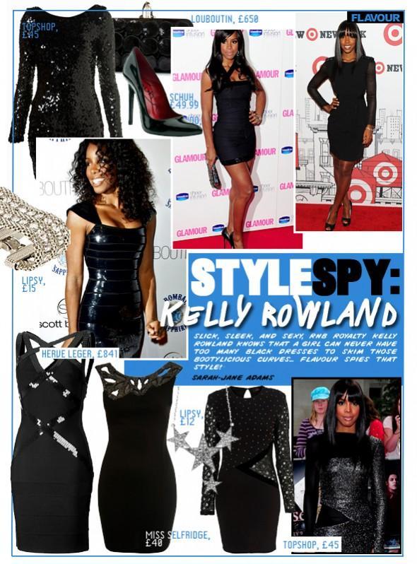 Style Spy Kelly Rowland