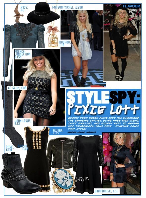 Style Spy Pixie Lott