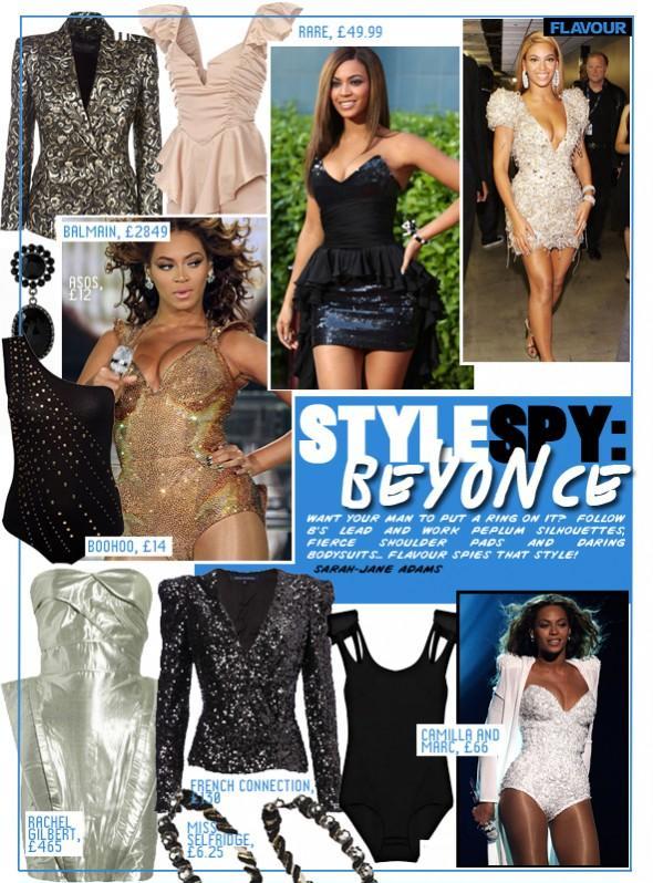 Style Spy Beyonce
