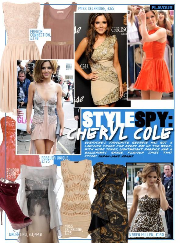 Style Spy Cheryl Cole