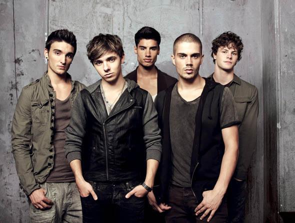 The Wanted grey background