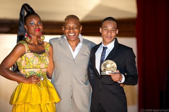 TMC Winners Nana & Jason & TMC CEO Sola Oyebade