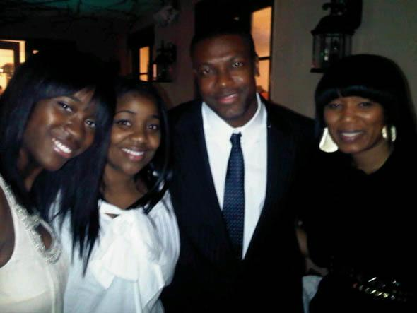 Angela Lisa Chris Tucker and Julia