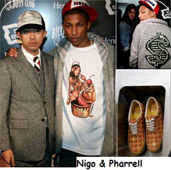 fashionista pharrell williams launches his new clothing