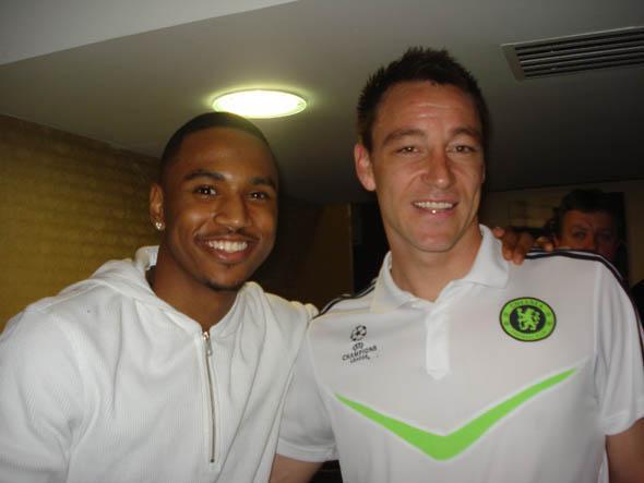 Trey meets John Terry