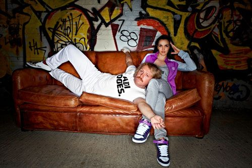 adidas - Take the Stage - Victoria Pendleton and Keith Lemon sml