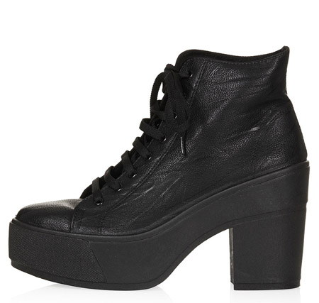 Topshop Platform Lace Up boots £42.00