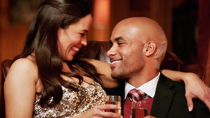 Paula Patton and Boris Kodjoe Baggage Claim