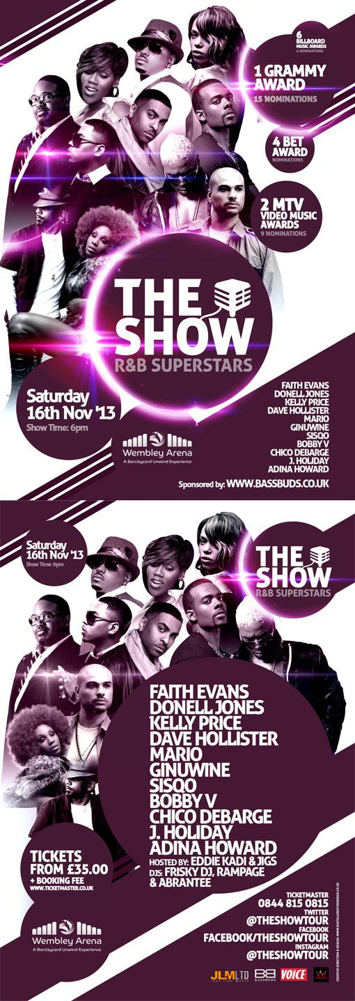 The show flyer