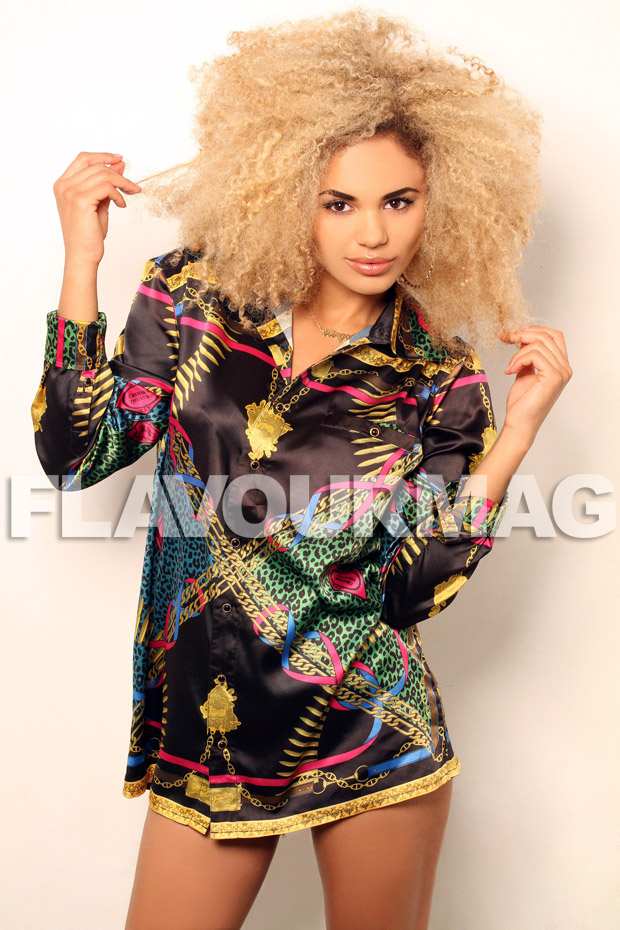 NEON JUNGLE FLAVOURMAG SHOOT