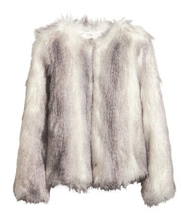 Veste manteau femme h m