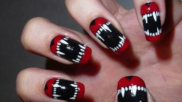 5 surreal nail art designs that will cause a scare flavourmag we gathered 5 surreal mind boggling manicure designs that you probably havent seen before we think these five experts have hit the nail on the head pun prinsesfo Images