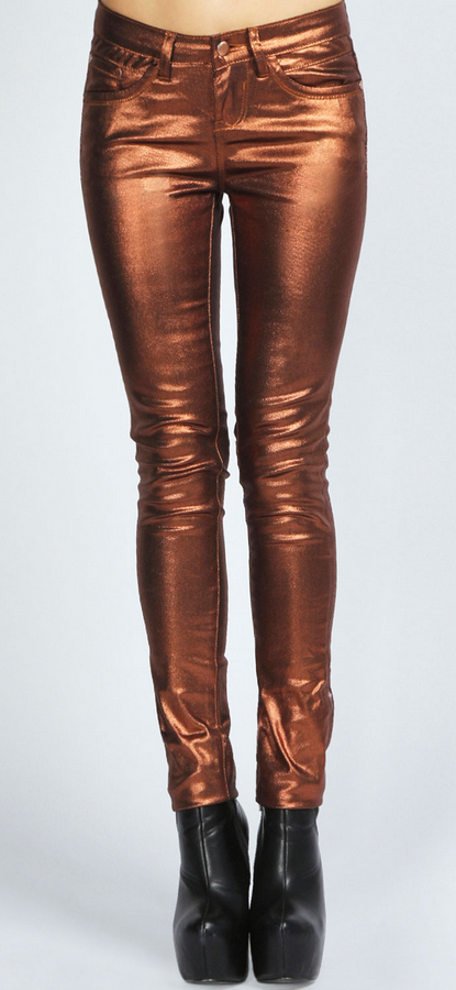 Asia Metallic Super Skinny Jeans £20 - Click image to start shopping