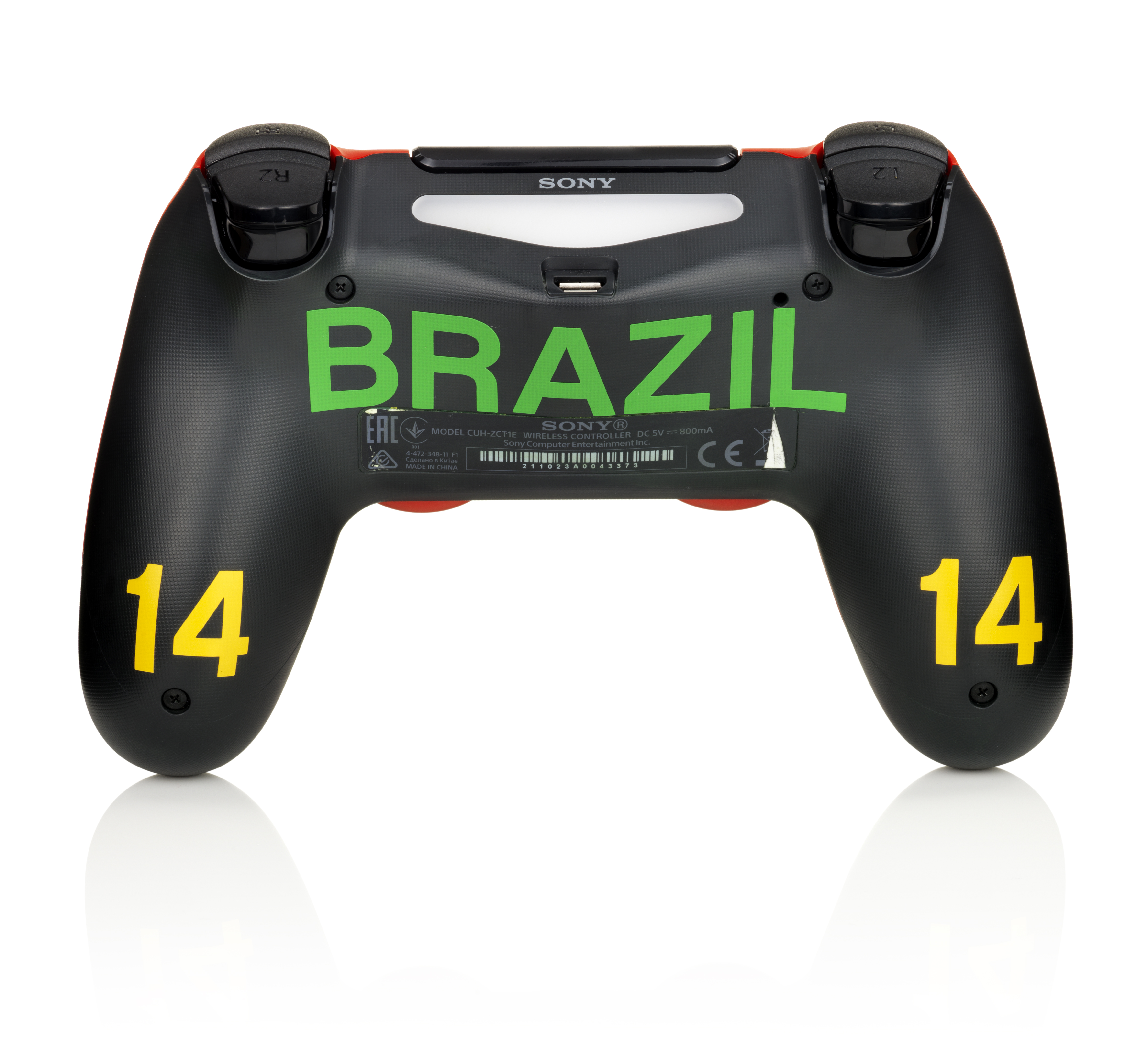 Sony To Give All PlayStation Controllers A Free World Cup Makeover