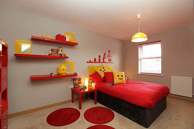 """Weston Homes create """"Lego Children\'s Room"""" to assist with marketing ..."""