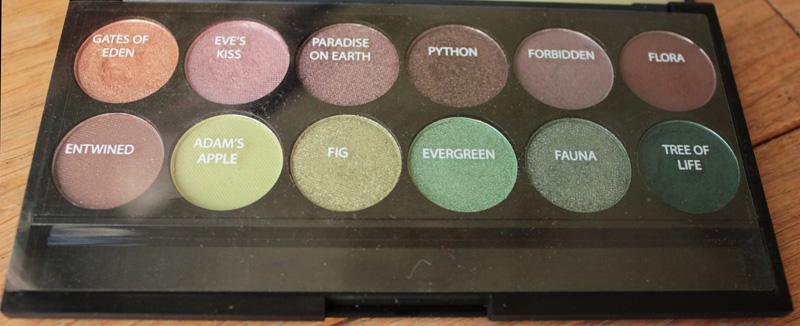 flavourmag palette garden of eden No.1