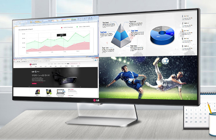 Introducing the LG 34UM95 the world's first 34-inch IPS