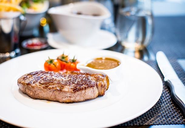 Manhattan Grill steak
