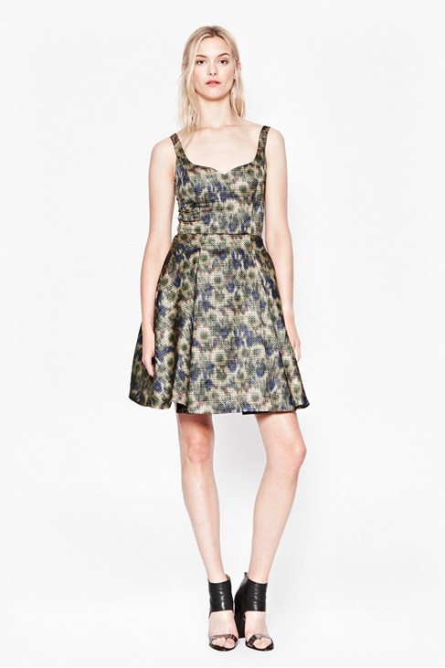 MOIRE MEADOW LUXE DRESS - £170 CLICK IMAGE TO BUY