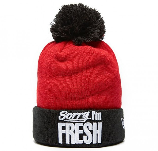 New EraSorry I'm Fresh Beanie Hat