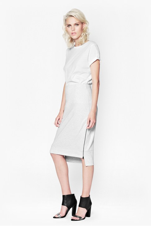 OLYMPIC MARL PENCIL SKIRT £65.00 - CLICK IMAGE TO BUY