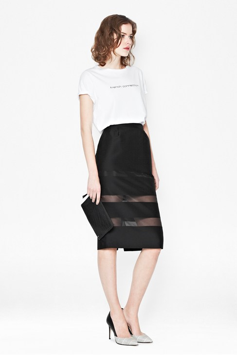WIND JAMMER STRIPE PENCIL SKIRT £95.00 CLICK IMAGE TO BUY