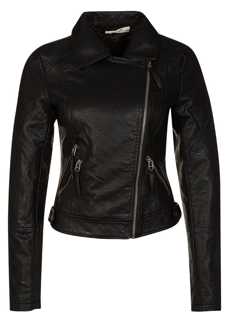 The Noisy May MILA - Faux leather jacket - black was £55.00 now £46.00