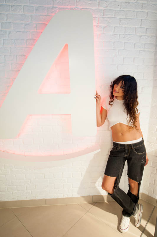 Sunday 27th July 2014: Platinum-selling singer Eliza Doolittle performs exclusive gig at Argos' new Tottenham Court Road digital store