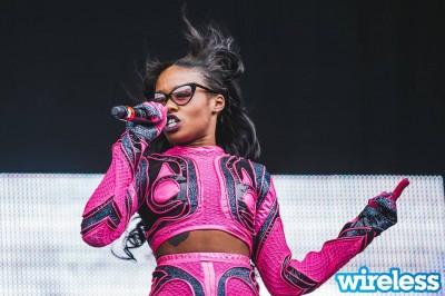 Azealia Banks on Birmingham's Main Stage last Friday