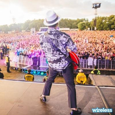 Bruno Mars at Wireless
