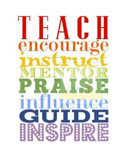 Teach quote