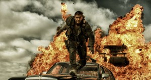 Mad Max Fury Road - Tom hardy jumping fire