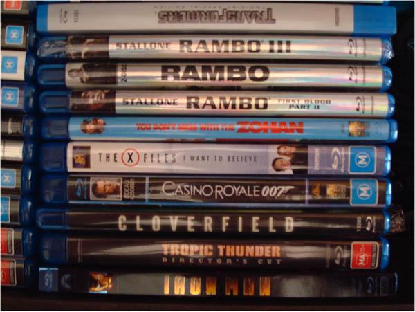 Favourite Movies on Blu-ray