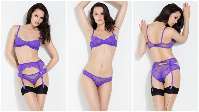 Vanessa Purple - L'Agent By Agent Provocateur - Flavourmag