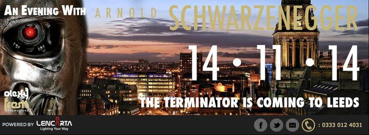 Arnold Schwarzenegger-london