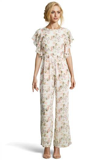 Boutique Lexi Floral Wide Leg Jumpsuit £20.00