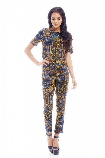FUNKY PRINTED TROUSERS £22.00