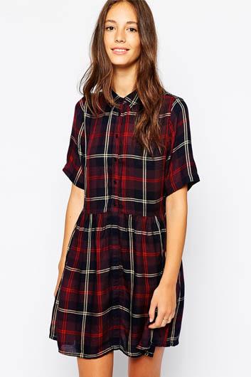 Jack Wills Checked Shirt Dress £69.50