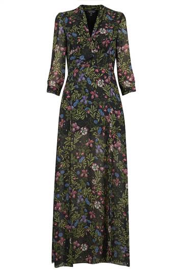 PUSSYBOW MAXI DRESS £68.00