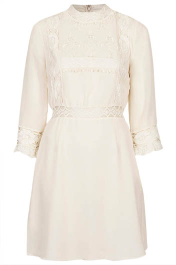 VICTORINA LACE DETAIL DRESS £45.00