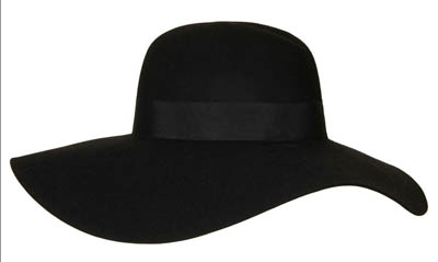 FLOPPY WOOL FEDORA HAT