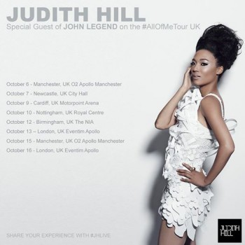 Judith Hill All of Me Tour